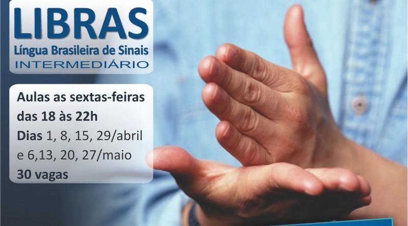 curso LIBRAS INTERMEDIARIO Uberlandia marco abril