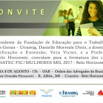 Convite FIC 2017 - Belo Horizonte