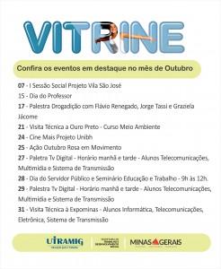 Vitrine Outubro 2017