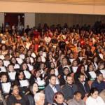 Formatura dos cursos técnicos lotou o Teatro Municipal de Nova Lima