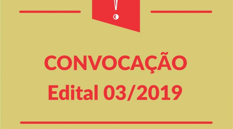 Posts convocacao Edital 03-2019